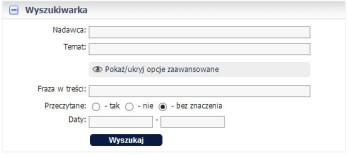 Zaawansowana wyszukiwarka maili - wersja 1.14