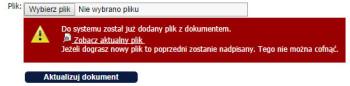 Nadpisywanie dokumentów - inFirma 1.20