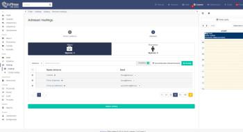 inFirma 2.0 - Wybór adresatów mailingu
