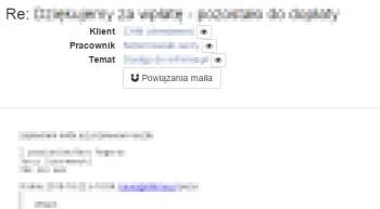 inFirma - powiązywanie maili w wersji 2.0
